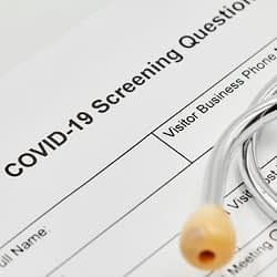 COVID Screening Questions - Dental Emergency - Kenosha Dentist